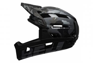 Casque avec Mentonnière Amovible BELL Super Air R Mips Noir Camo 2021