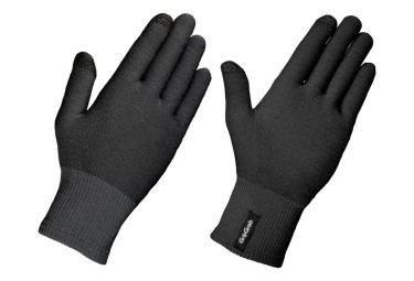 Pair of Gloves Gripgrab Merino Liner Black