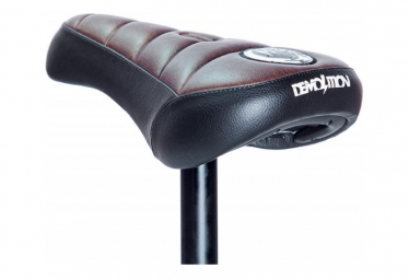 BMX Demolition ? Brown Pivotal Saddle