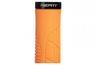 Puños Neatt One Lock Ergo - orange black