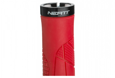 Neatt One Lock Ergo Grips Red