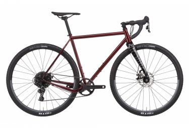 Gravel Bike Rondo RUT AL 2 Sram Apex 1 11V Gray / Black 2020