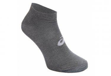 Pairs of Asics Ped Socks (pack of 3) Gray