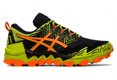 Asics Gel FujiTrabuco 8 yellow Black Orange
