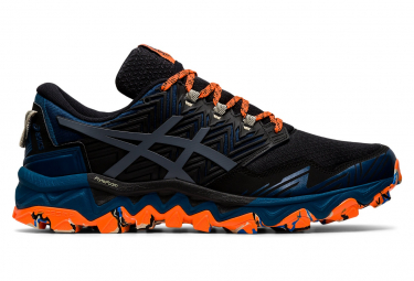 Asics Gel FujiTrabuco 8 Men Blue Black