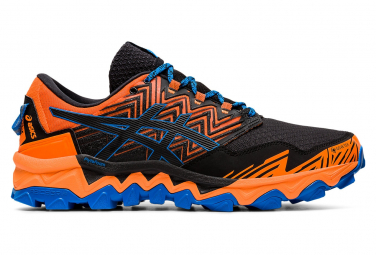 Asics Gel FujiTrabuco 8 GTX Men Orange Black Blue