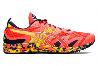 Asics Running Shoes Gel Noosa Tri 12 Coral Yellow