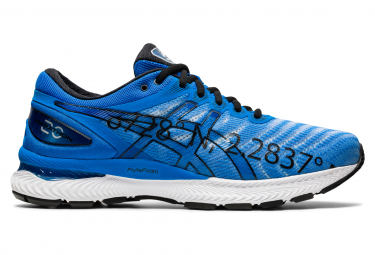 Asics Gel Nimbus 22 Marathon de Paris Men Blue White