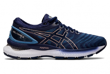 Asics Gel Nimbus 22 Women Blue Pink