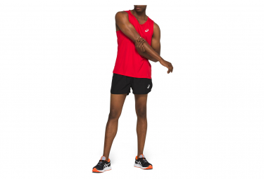 Asics Tank Men Red