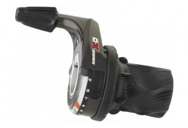 SRAM Grip Shift PAIRE XO 2x10V (rouge) - SRAM