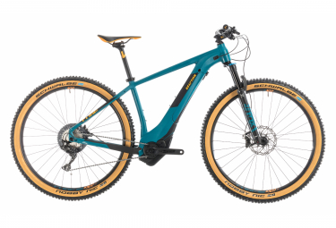 Electric Hardtail Cube Reaction Hybrid SLT 500 Kiox Shimano XT 11S 27.5'' 2019