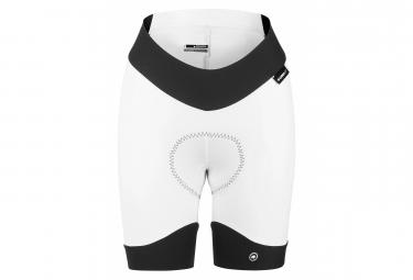 Assos Shorts sin tirantes para mujer UMA GT Blanco Negro