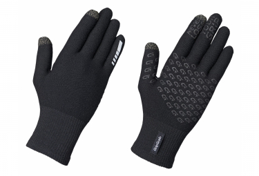 GripGrab Primavera Merino II Midseason Long Gloves Black