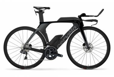 Vélo de Triathlon Cervelo P5 Disc Shimano Ultegra Di2 11V 2020 Noir / Gris