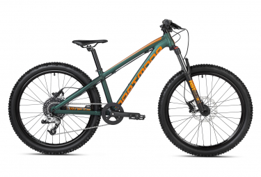 VTT Semi-Rigide Enfant Dartmoor Hornet Junior 24'' Vert / Orange 8 - 12 ans