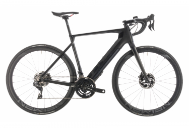 Cube Electric Road bike Agree Hybrid C:62 SLT Disc Shimano Dura Ace Di2 11s Black 2019