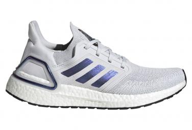 adidas UltraBoost 20 White Blue Purple Women
