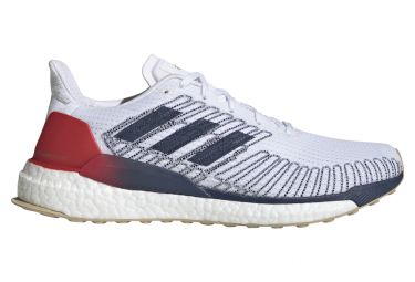 adidas Solar Boost 19 White Blue Red Men