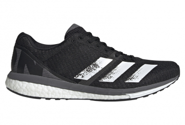 adidas adizero Boston 8 Black White Men