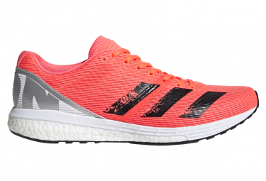 adidas adizero Boston 8 Orange White Men