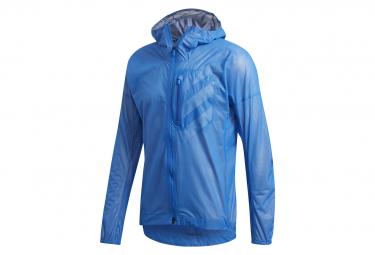 adidas Water repellent Vest Trail Agravic Rain Blue Men