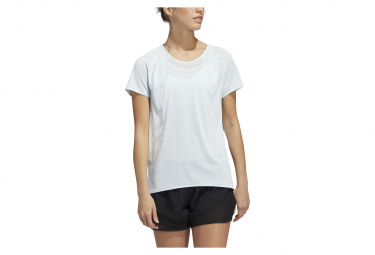 Adidas Short Sleeves Jersey Heat Dry Blue Mujer S