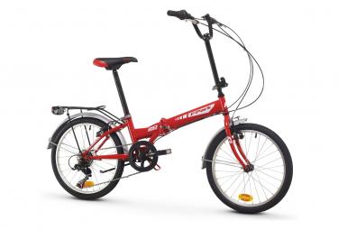 Vélo de ville pliant RACER MOON 20'' Shimano 6v Rouge
