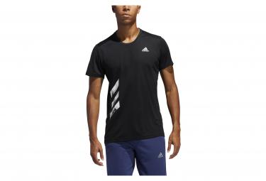 Adidas Run It PB Kurzarmtrikot Schwarz Herren