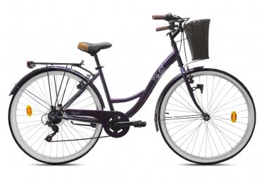 Image of Velo de ville street 28 racer shimano 6v violet