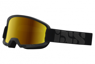 IXS Hack Goggle Black / Gold Mirror Lens