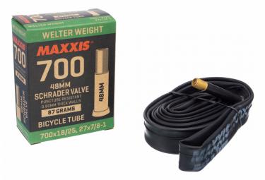 Chambre à Air Maxxis Welter Weight 700 mm Schrader 48 mm