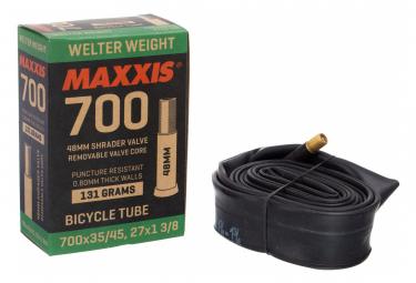 Chambre à Air Maxxis Welter Weight 700 mm Schrader 48 mm RVC