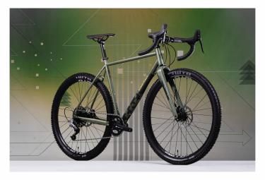 Gancho Bombtrack EXT Gravel Bike Sram Rival 11V Matt Forest Green