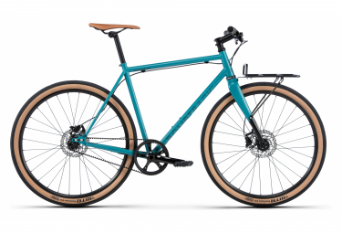 Bombtrack Outlaw Gravel Bike Single Speed Matt Teal