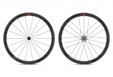 Par de ruedas Fulcrum Wind 40 Carbon Disc | 12x100 - 12x142 mm | cierre central