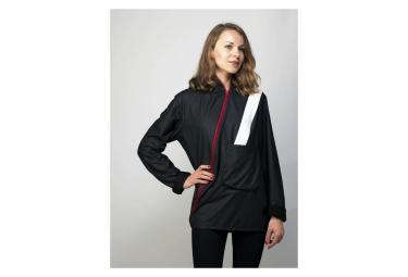 Image of veste lumineuse impermeable c rider avec led et bande large eclairante l