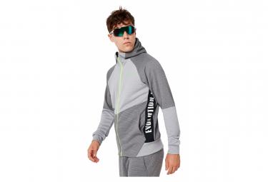 Oakley Jacket Enhance Grid Fleece Jacket 9.7 Gray