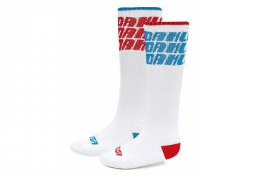 Oakley Loop Socks Socks White  Paquete De 2 Pares  42 44