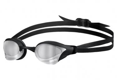 Lunettes de Natation ARENA Cobra Core Swipe Mirror Noir Argent