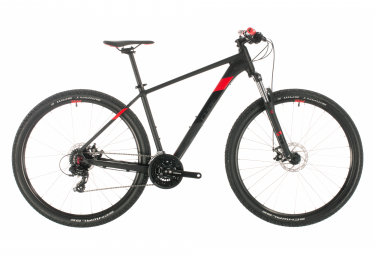 Cube MTB Hardtail Aim Shimano 8s 29'' Black / Red 2020