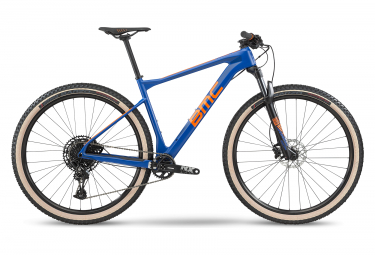 BMC 2020 Teamelite 02 TWO 29 '' MTB semi rigido Sram NX Eagle 12V blu / arancione