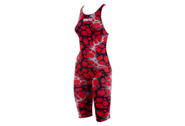 ARENA Women combination Powerskin St Fbslo Ltd Edition Red Silver
