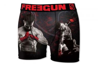 Boxer noir homme Freegun MMA