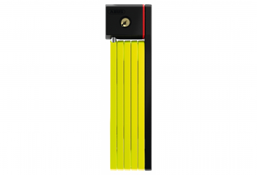 Abus Bordo Ugrip 5700   80cm Lime Green Plegable Lock   Sh Support