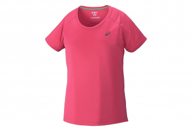 ASICS Women's FUJITRAIL ULTRA TOP Women's Short Sleeve Jersey Pink