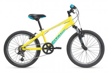 Gitane Kobalt 20 Kids Hardtail MTB Shimano Tourney 6S 20'' Lime Yellow 2020