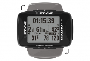 Contador GPS Lezyne Macro Plus