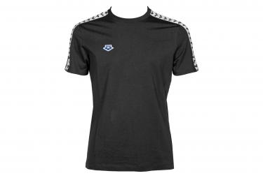ARENA T-shirt Men Team Black White