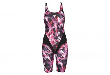 Jumpsuit Woman ARENA Night Lights Black Pink